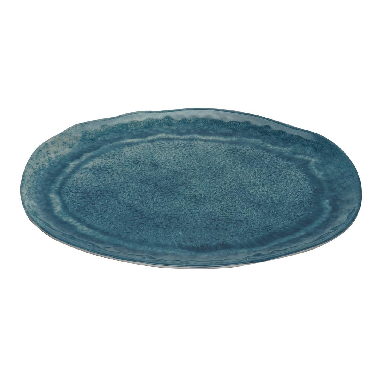 Travessa Melamina Aqua Azul - 40cm