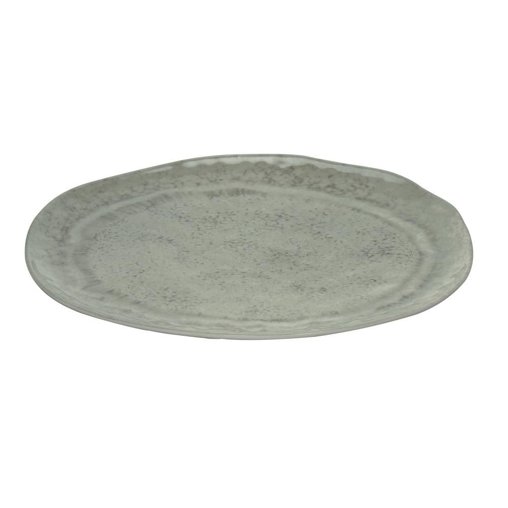 Travessa Melamina Aqua Cinza - 40cm