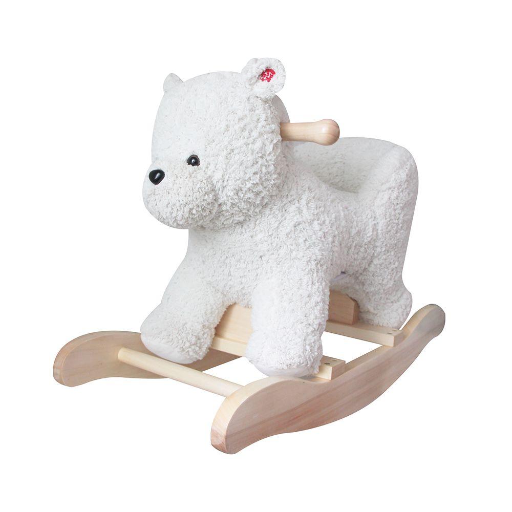 Urso Polar de Balanço de Pelucia Musical