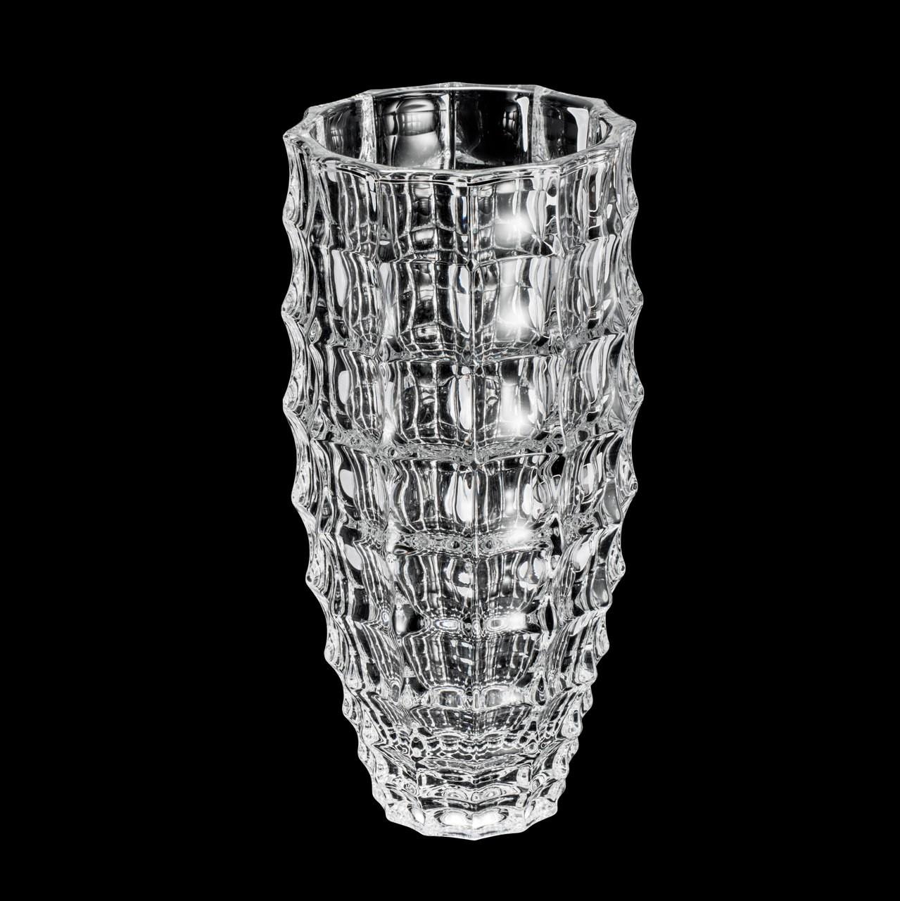 Vaso De Cristal Transparente Wolff 27,5cm