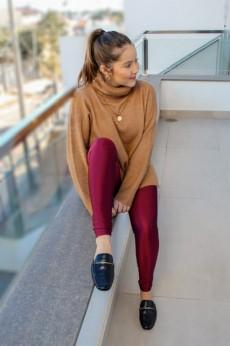 Legging Lycra Borgonha