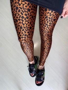 Legging Lycra Leopardo