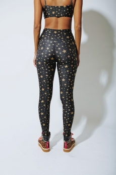 Legging Lycra Golden Stars