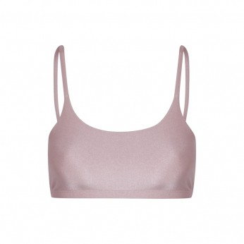 Top Basic Lycra Ouro Rosa