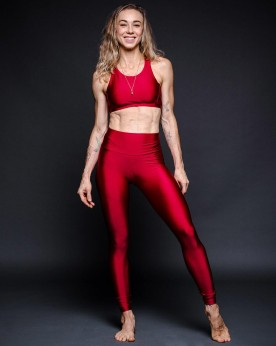 Top Cropped Lycra Rubi