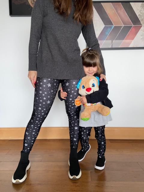 Legging Infantil Silver Stars
