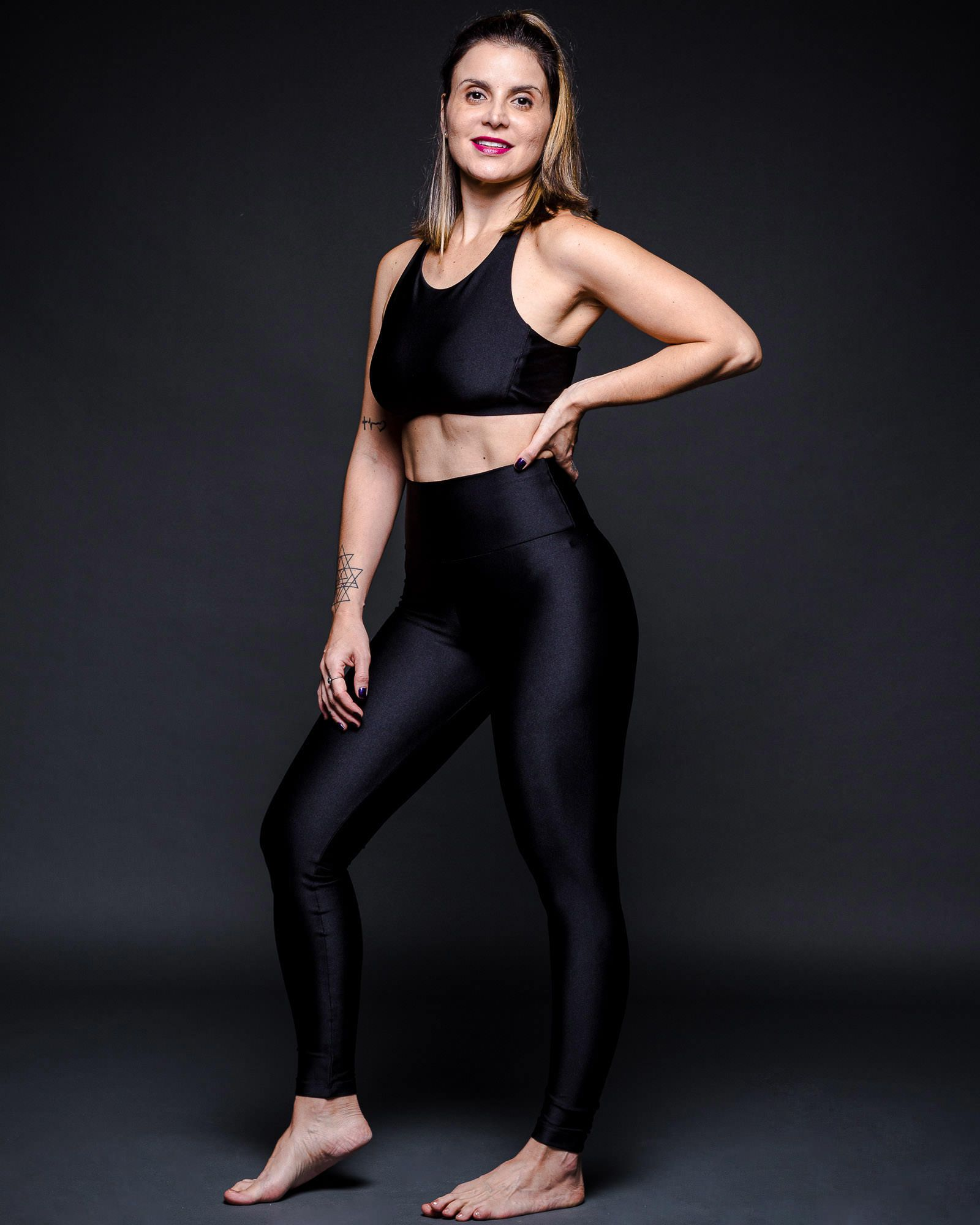 Legging Lycra Preta