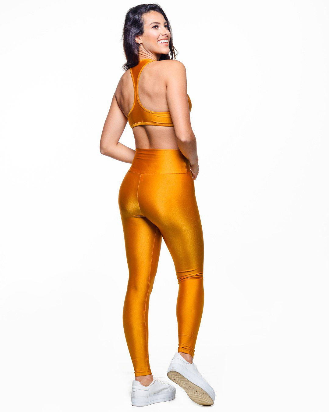 Legging Lycra Trilobal Damasco