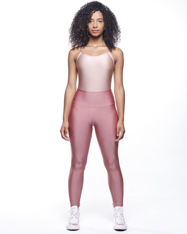 Legging Lycra Trilobal Rosa Ballet
