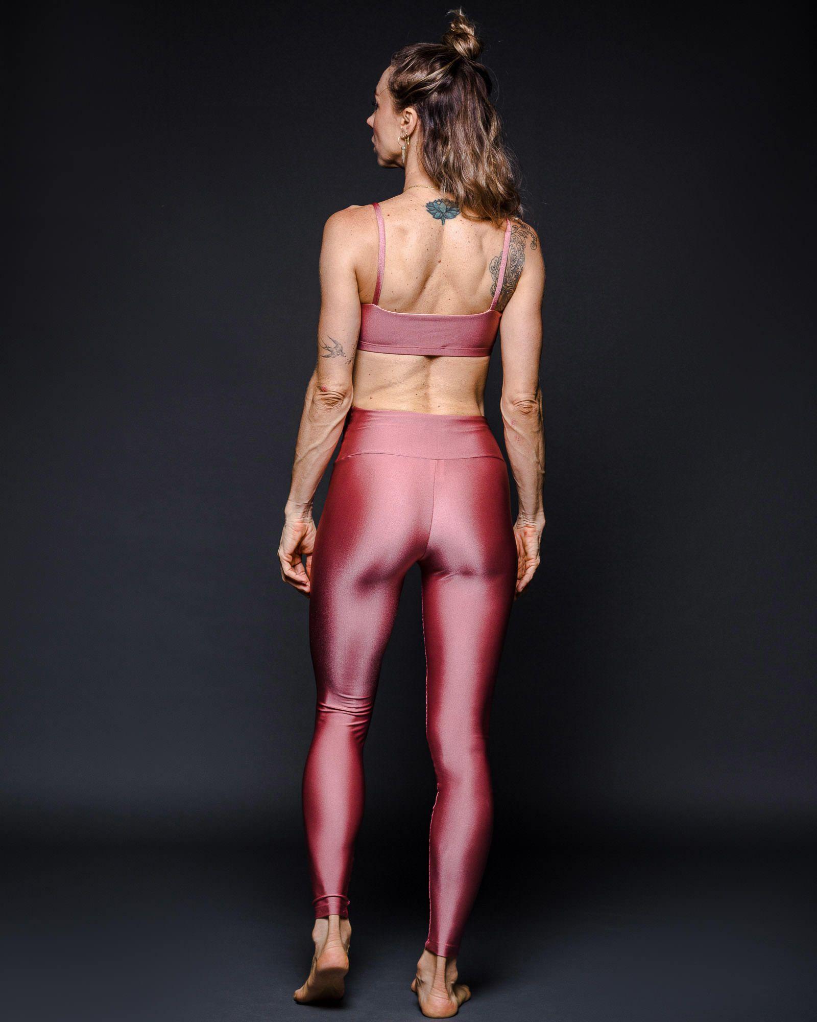 Top Basic Lycra Rosa Ballet