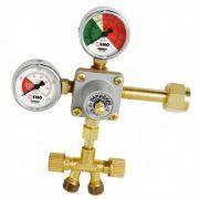 Regulador de Pressão com Manômetro - 2 vias