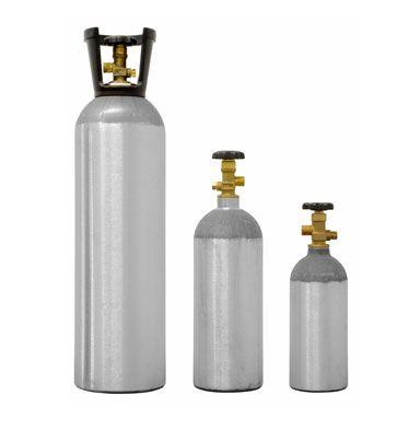 CILINDRO CO2 - Cap. 4,5 KG - ALUMÍNIO