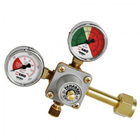 Regulador de Pressão com Manômetro 1 Via