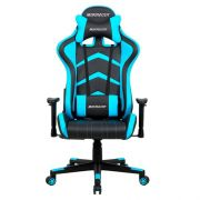 Cadeira Gamer MaxRacer Aggressive Azul