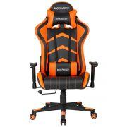Cadeira Gamer MaxRacer Aggressive Laranja