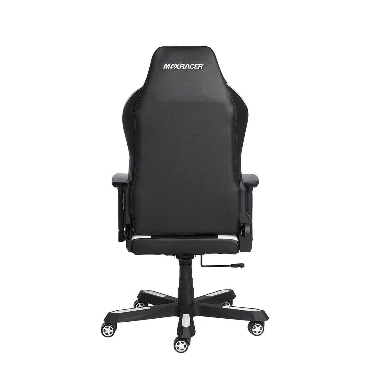 Cadeira Gamer MaxRacer Profissional Bomber Branca