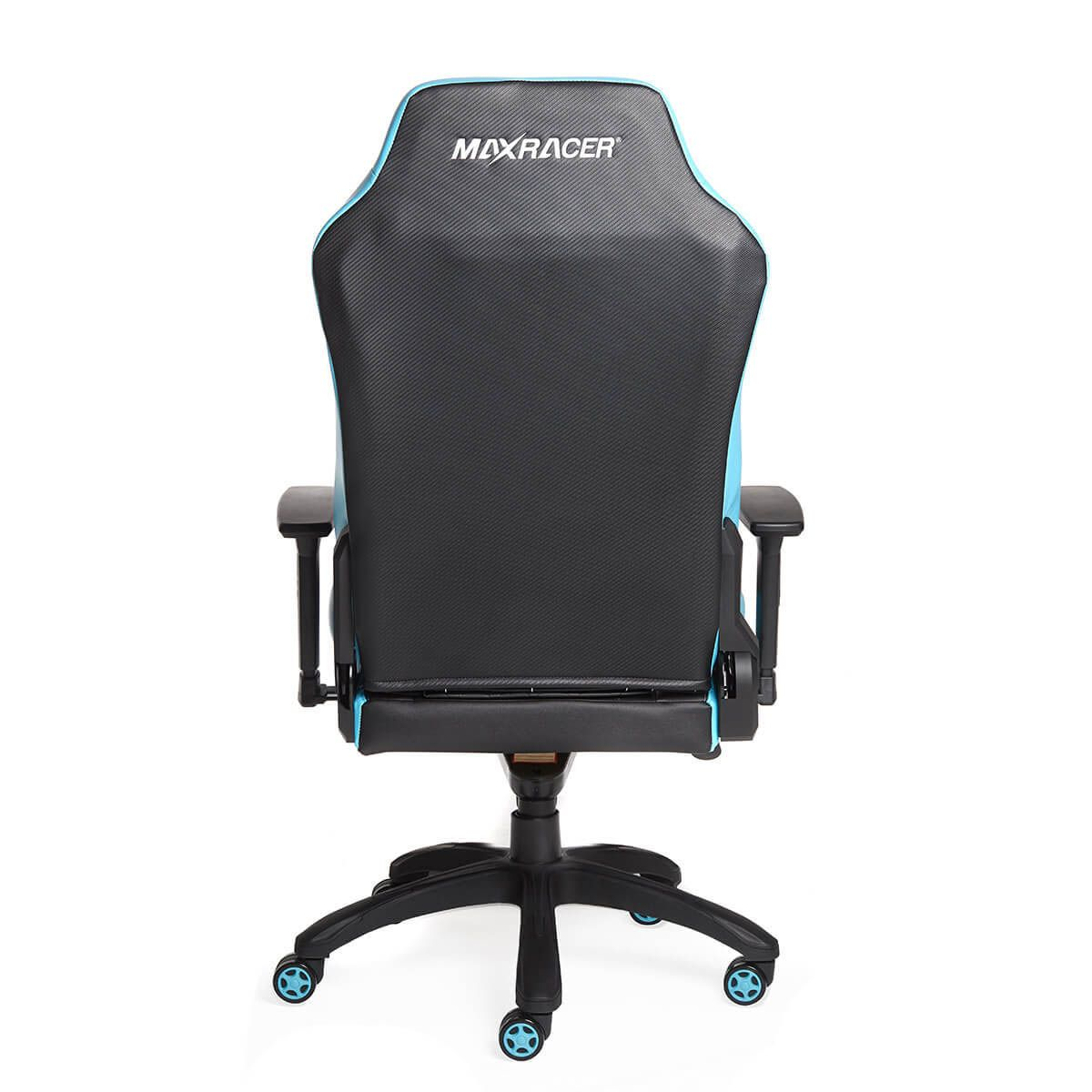 Cadeira Gamer MaxRacer Profissional Bunker Azul