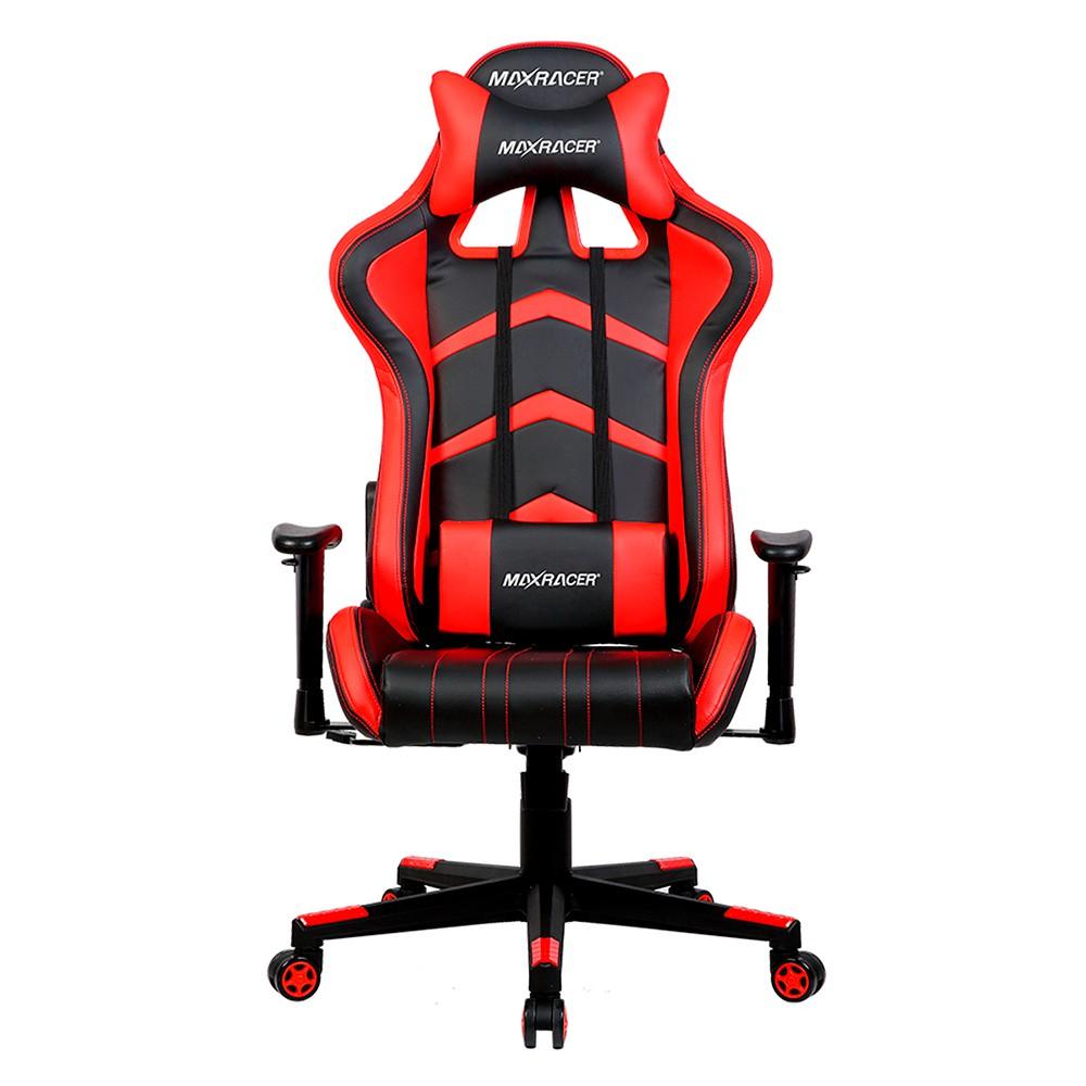 Cadeira Gamer MaxRacer Aggressive Vermelha