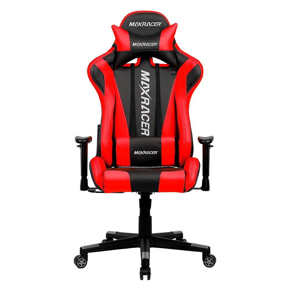 Cadeira Gamer MaxRacer Skilled Vermelha