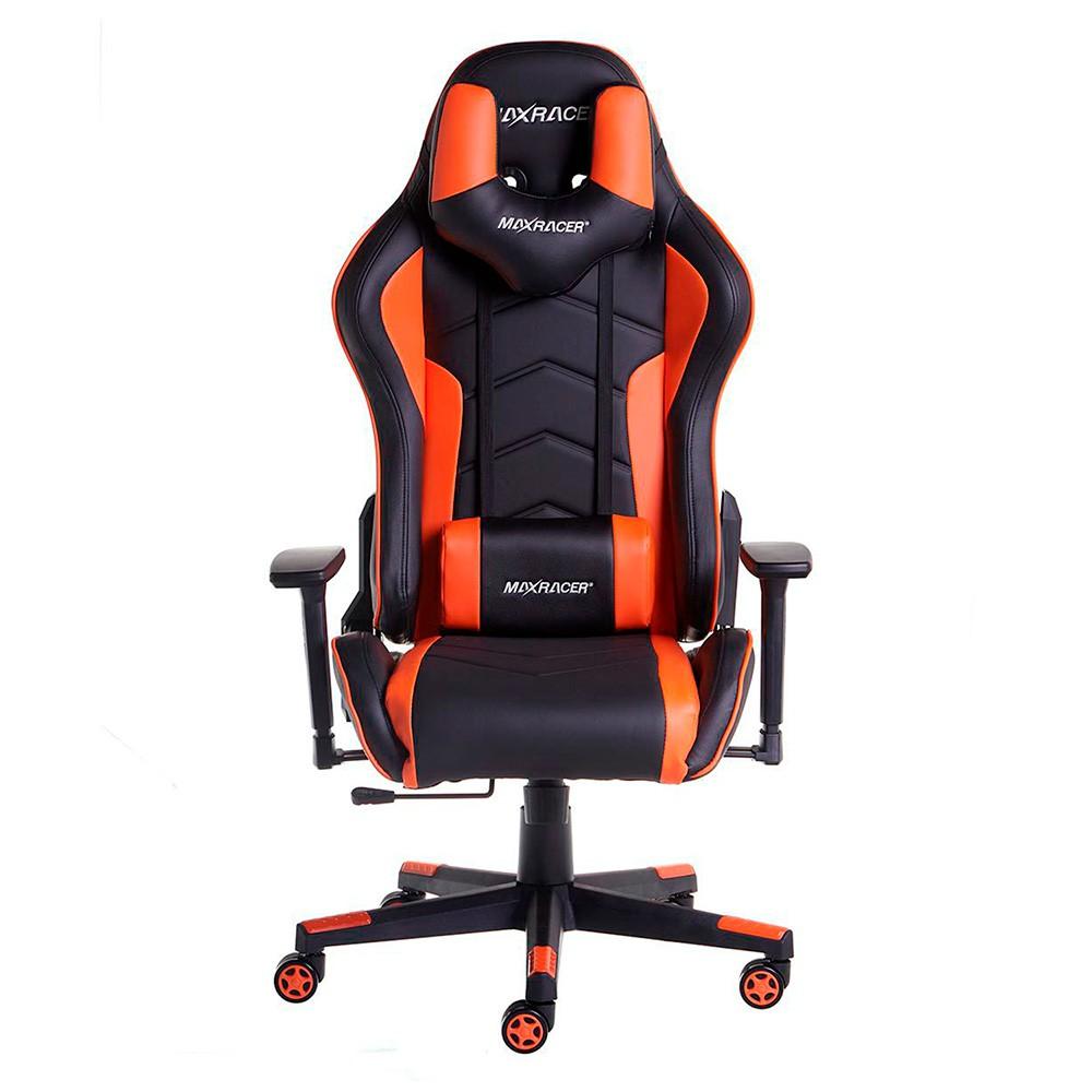 Cadeira Gamer MaxRacer Tactical Laranja