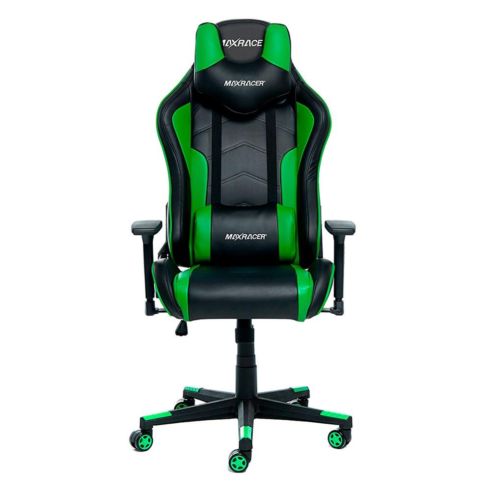 Cadeira Gamer MaxRacer Tactical Verde