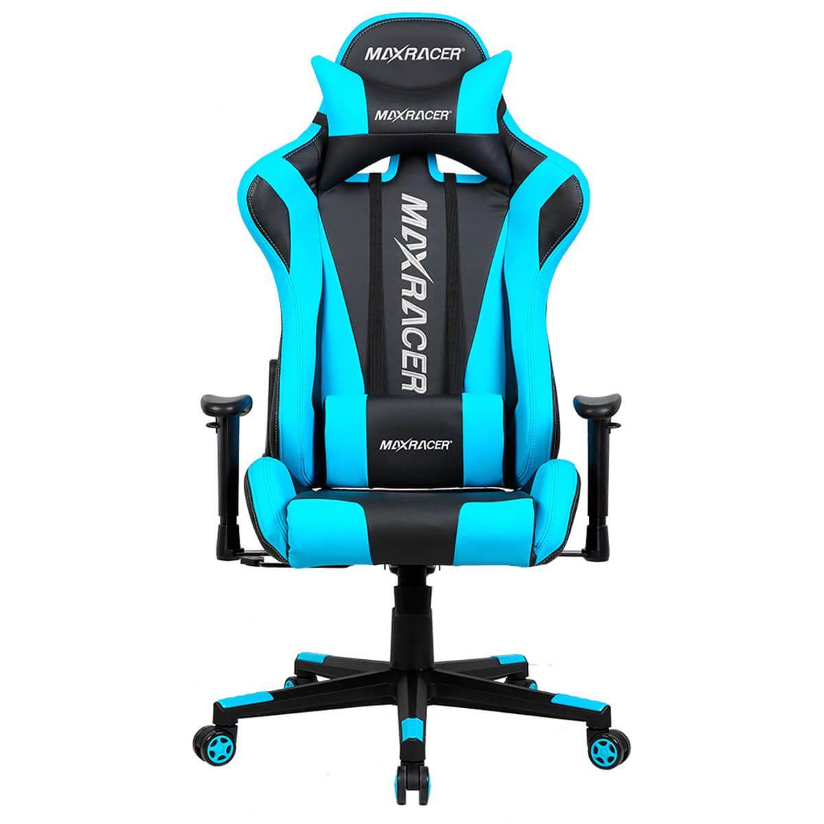 Cadeira Gamer MaxRacer Skilled Azul