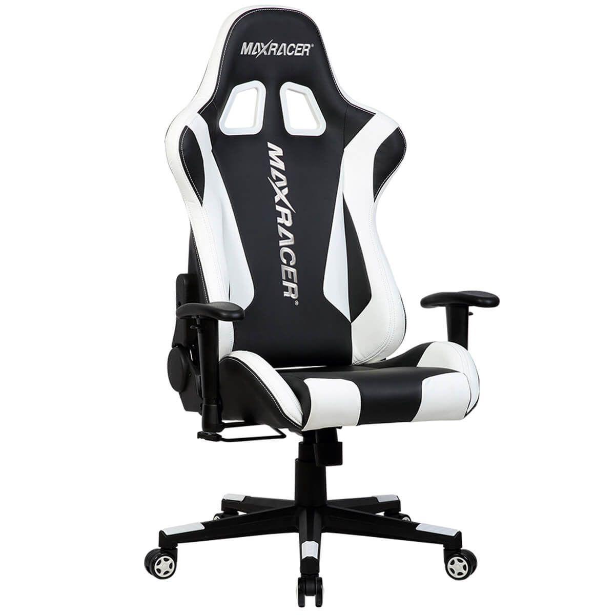 Cadeira Gamer MaxRacer Skilled Branca