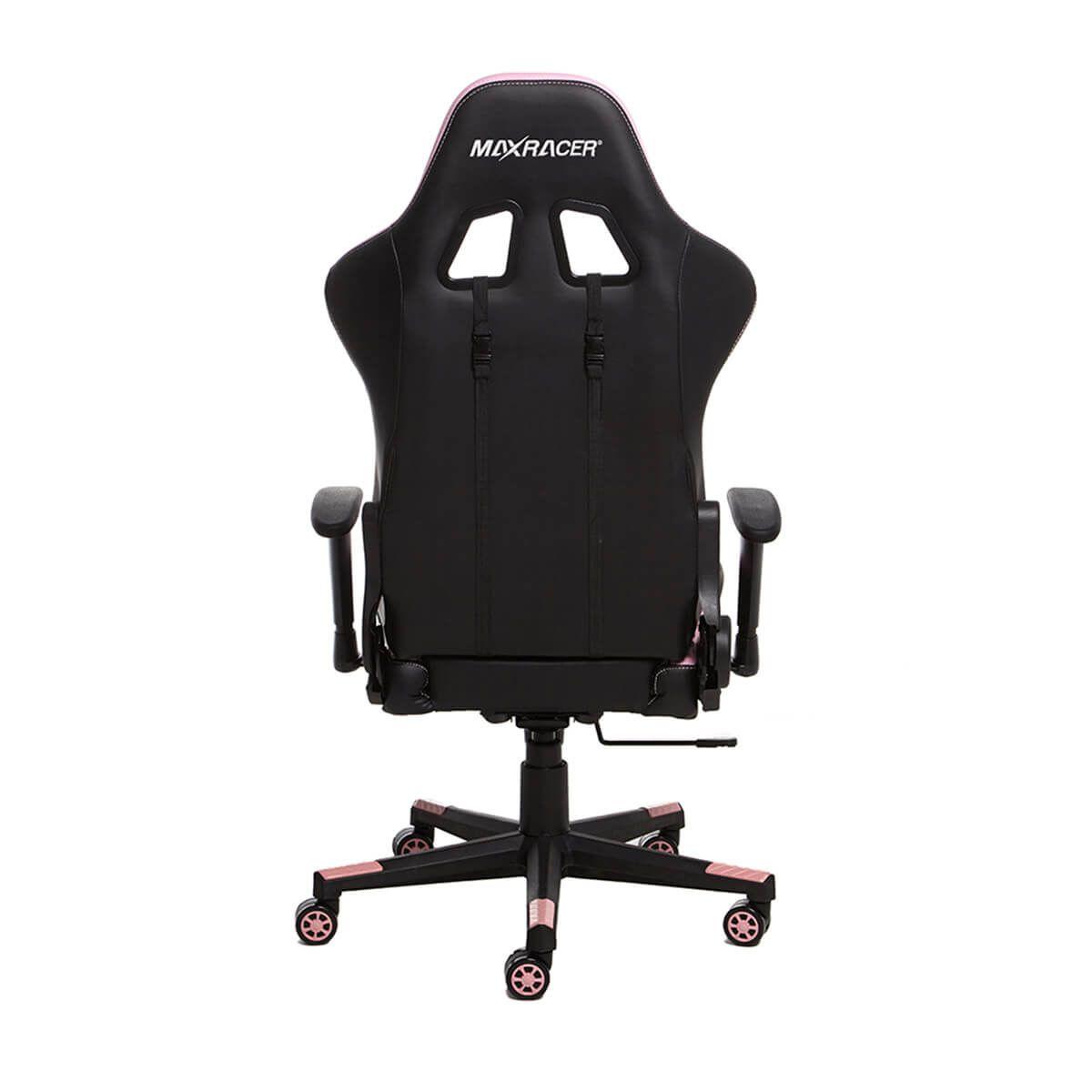 Cadeira Gamer MaxRacer Skilled Rosa