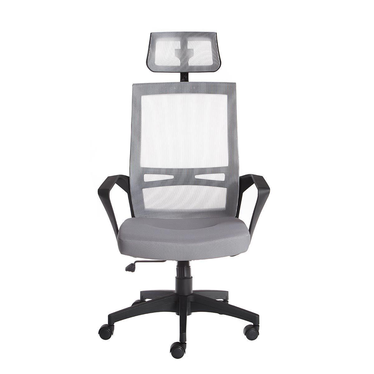 Cadeira Office Elegance Presidente Cinza