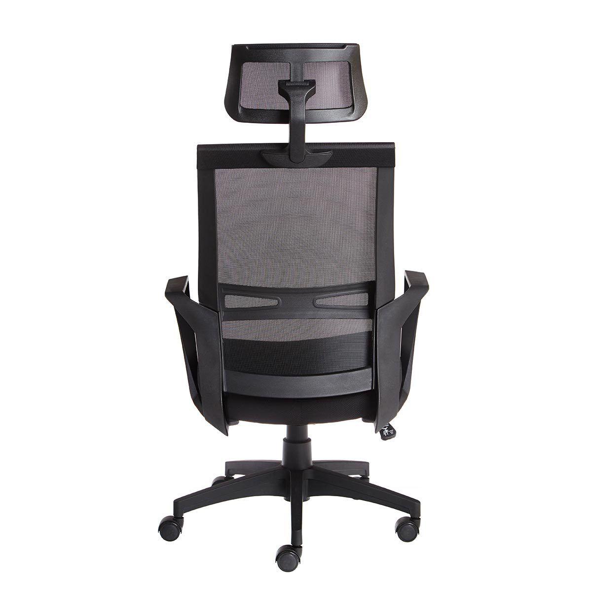 Cadeira Office Elegance Presidente Preta