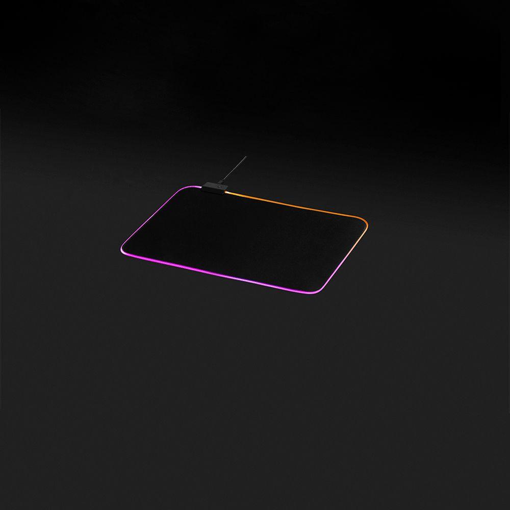 MousePad Gamer RGB MaxRacer - Médio