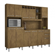 Armário de Cozinha Petra- 11 Portas e 2 Gavetas