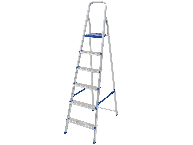 Escada Alumínio 6 Degraus