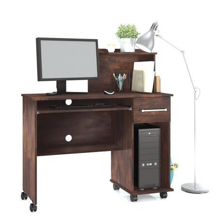 Mesa de Computador Studio c/ Rodízios
