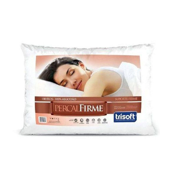 Travesseiro Trisoft percal Firme 50x70cm