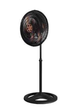 Ventilador De Coluna Ventisol Turbo 6 Pás 50cm Bronze 220V