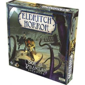 Board Game - Sob as Pirâmides - Expansão Eldritch Horror