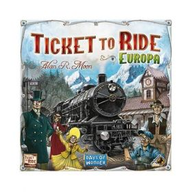 Board Game - Ticket to Ride Europa
