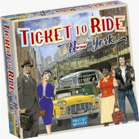 Board Game - Ticket to Ride New York