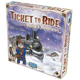 Board Game - Ticket to Ride Países Nórdicos