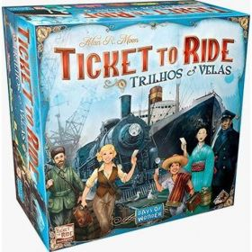 Board Game - Ticket to Ride Trilhos e Velas
