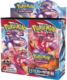 Booster Box Pokémon Estilo de Batalha