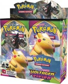 Booster Box Pokemon Voltagem Vivida