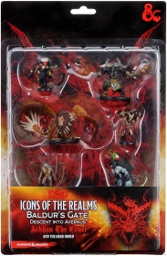 Dungeons Dragons DD Figure Pack Descent into Avernus Arkhan the Cruel and The Dark Order