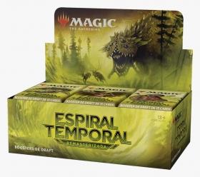 MTG Espiral Temporal Remasterizado Draft Booster Box Portugues