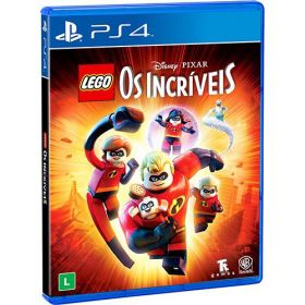 PS4 - Lego Os Incríveis