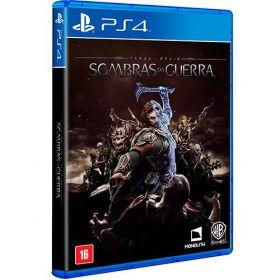 PS4 - Terra Média Sombras da Guerra