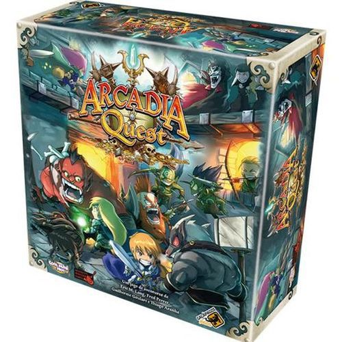 Arcadia Quest, com Kit de sleeves