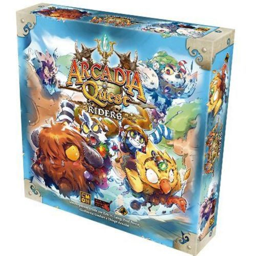 Board Game - Arcadia Quest Riders