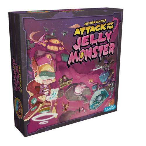 Board Game - Attack of the Jelly Monster